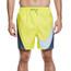 """Nike Swim Beach 5.5"""" Spodenki kąpielowe Mężczyźni żółty/szary"""